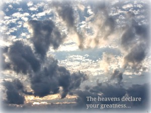 The Heavens Declare Daye By Daye